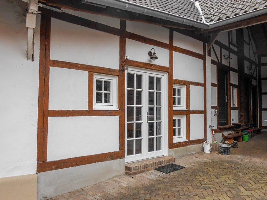 Fachwerkhaus Fassade restauriert