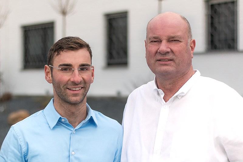 Franz Toni und Maik Weber