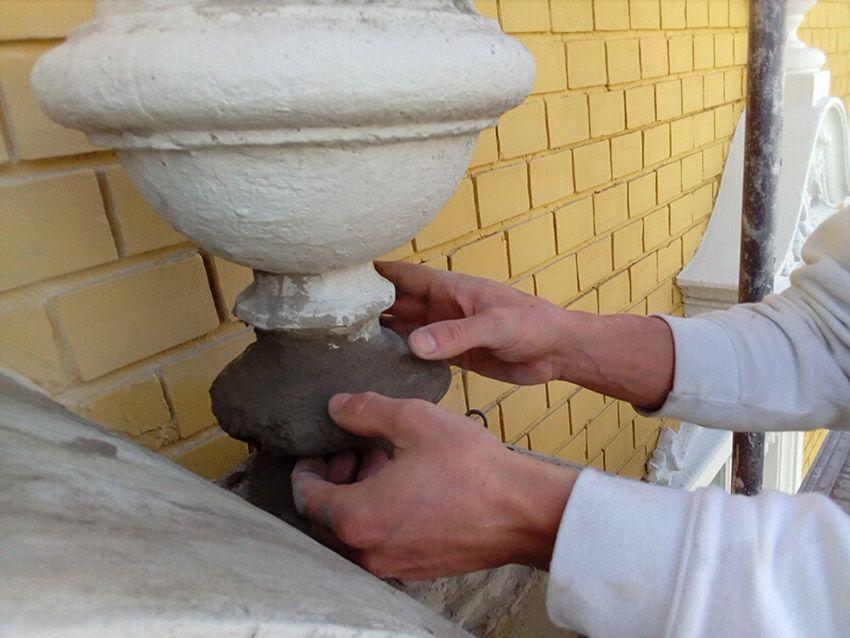 Restauration von Hand