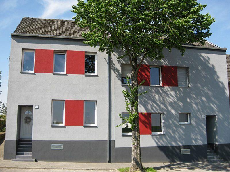 Fassaden Renovierung mit Wärmedämmung Putz