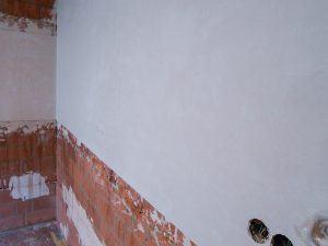Referenz Küchenwand verputzen nacher