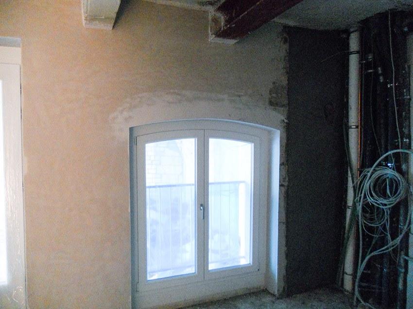 Kellerwand rekonstruiert nacher 3