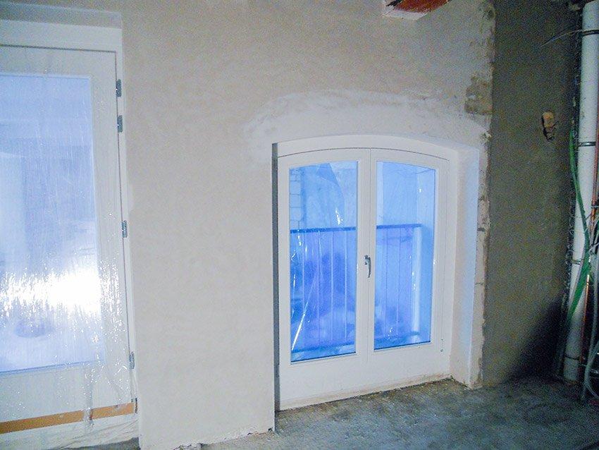 Kellerwand rekonstruiert nacher 2