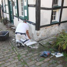 Referenz Sanierung Fachwerkhaus Fassade